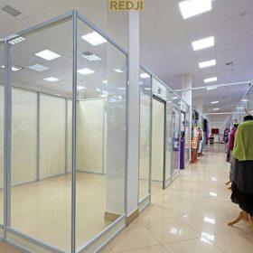 Пластиковые перегородки для торговых центров