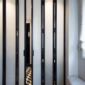 Двери-гармошка для душа