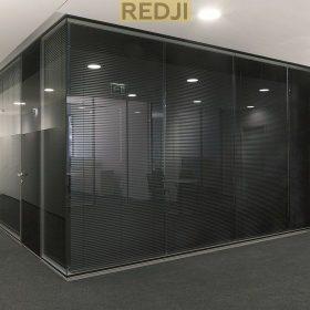 Модульные стеклянные перегородки