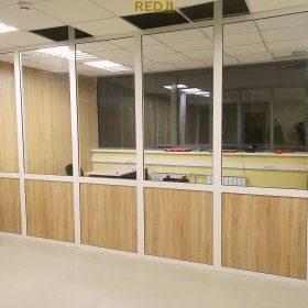 Офисные перегородки из ПВХ