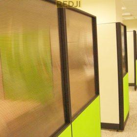 Офисные перегородки из поликарбоната