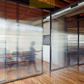 Мобильные офисные перегородки из поликарбоната