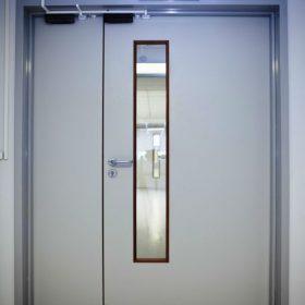 Офисные противопожарные двери