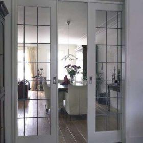 Перегородки между кухней и комнатой