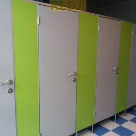 Сантехнические перегородки для школ