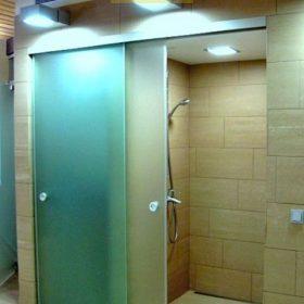 Перегородки для ванной комнаты из оргстекла