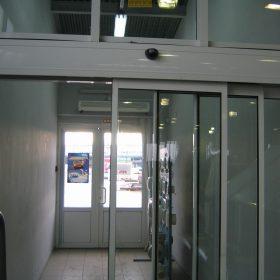 Телескопические автоматические двери