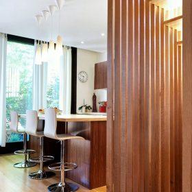 декоративные деревянные перегородки