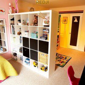 Перегородки для детской комнаты