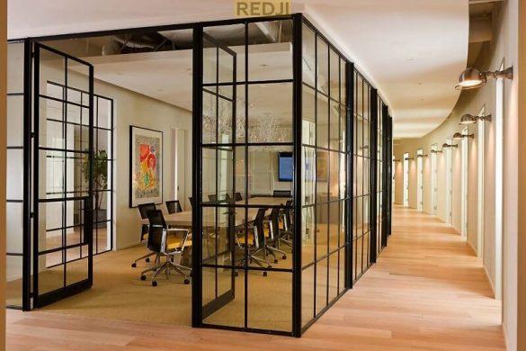 Офисные перегородки в стиле лофт